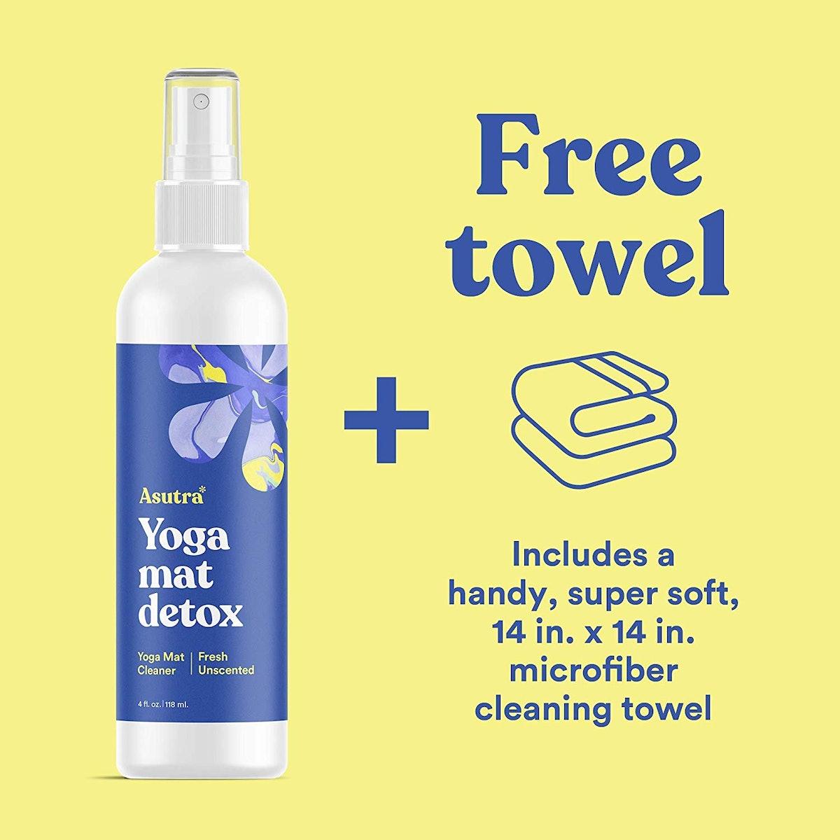 ASUTRA Organic Yoga Mat Cleaner