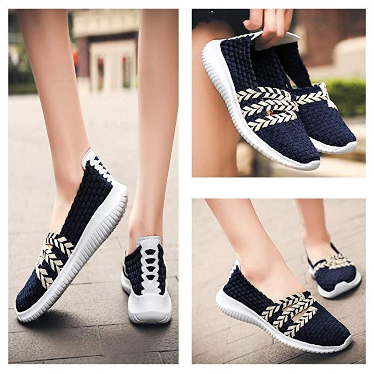 DAYOUT Slip On Walking Shoes