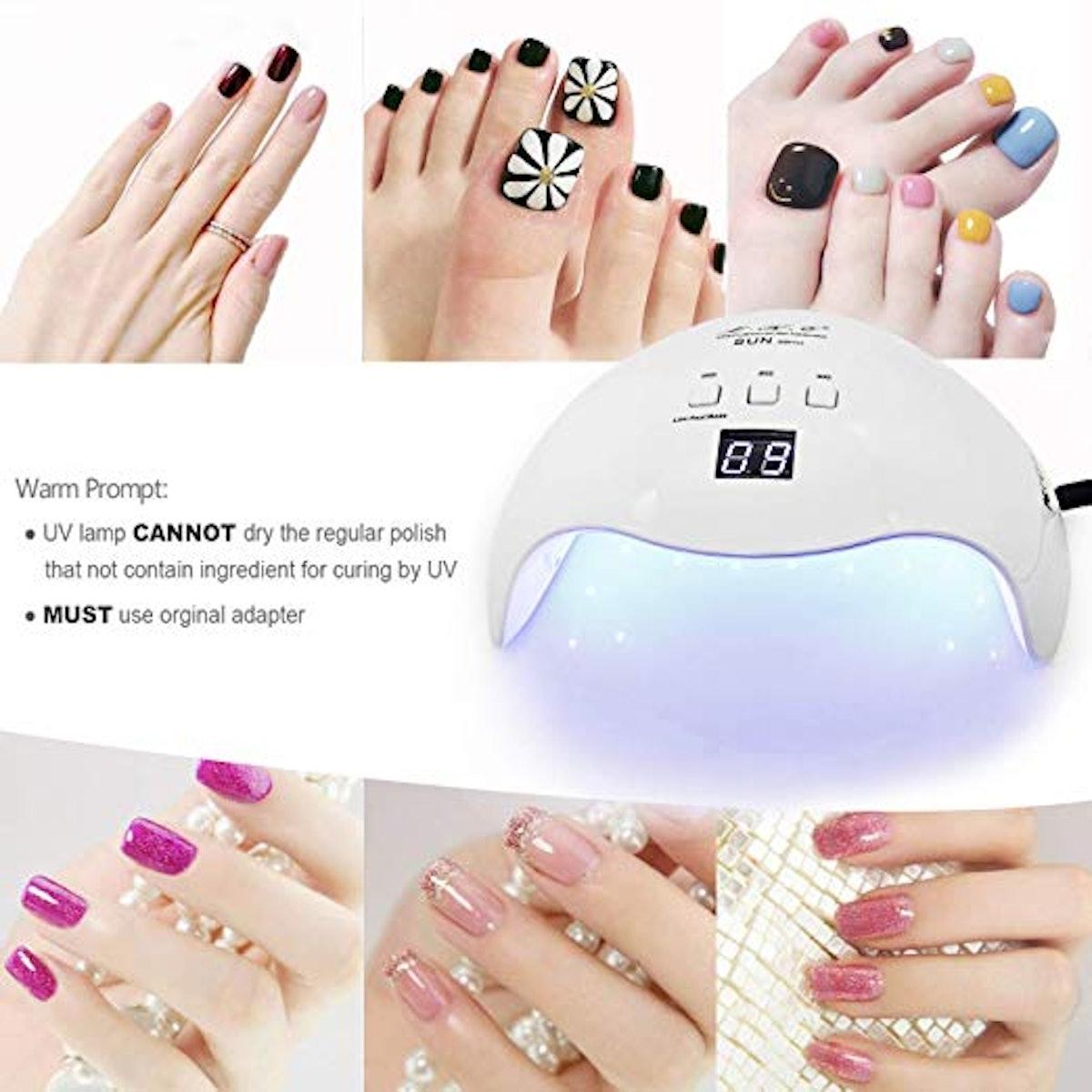 LKE Gel UV LED Nail Lamp
