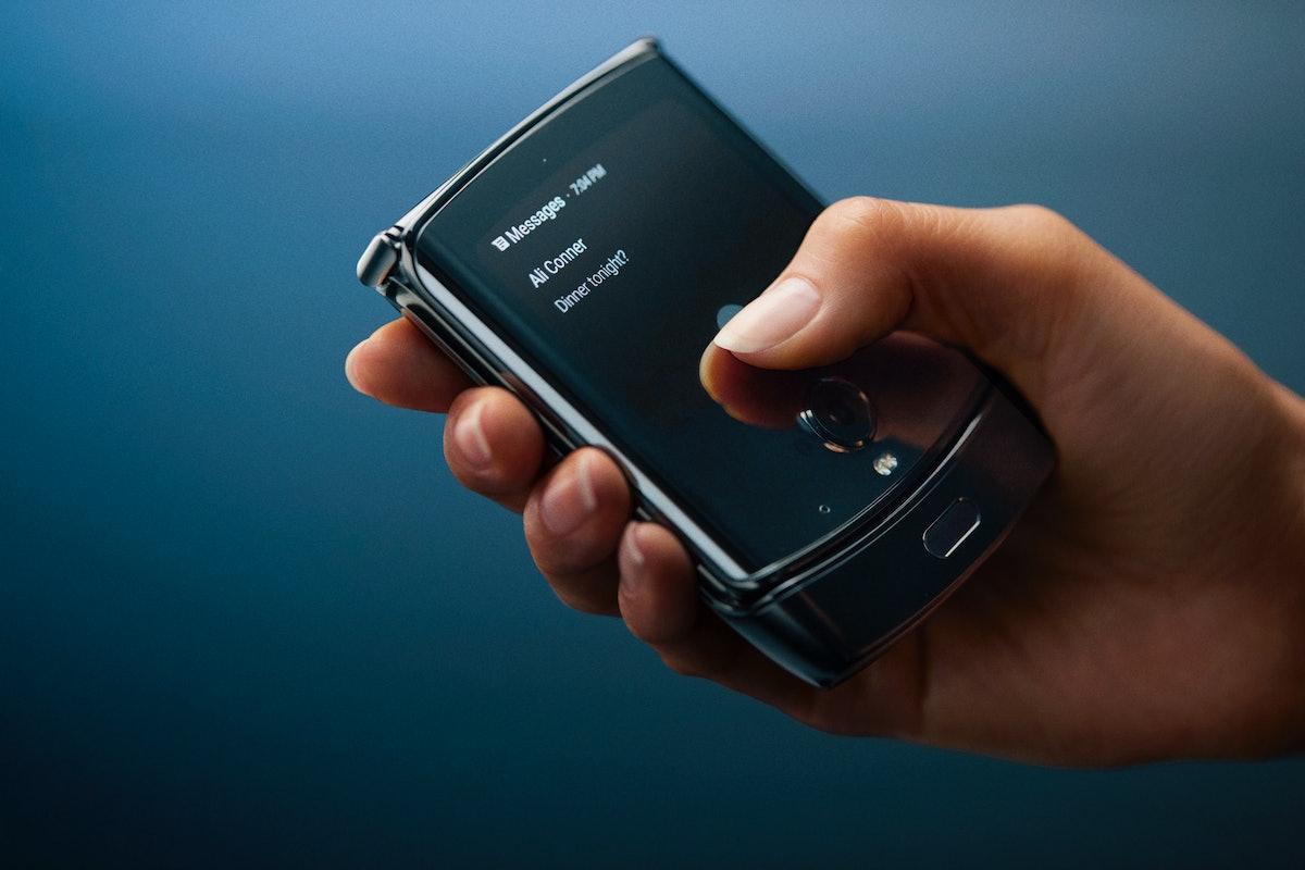 The Motorola Razr Smartphone's Release Date Is coming in January 2020.