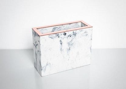 Minshape Marble Concrete Vase