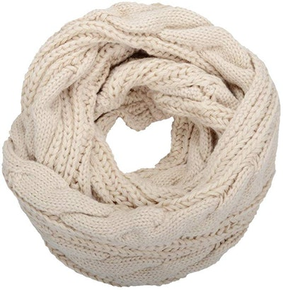 NEOSAN Thick Ribbed Knit Winter Infinity Scarf