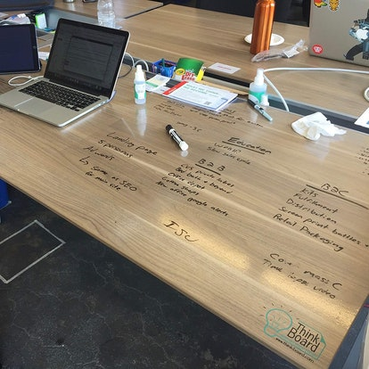 Think Board Self-Adhesive Whiteboard
