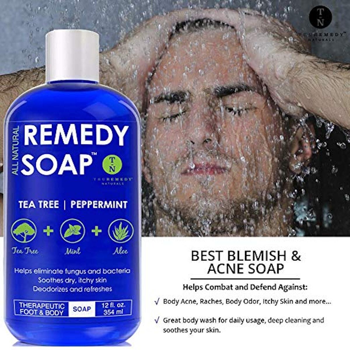 Remedy Wash Soap Tea Tree Oil Body Wash