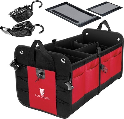Trunkcratepro Collapsible Trunk Organizer