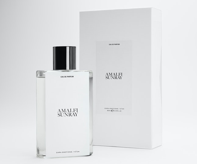 Zara Emotions consists of eight fragrances dreamed up by Jo Malone CBE