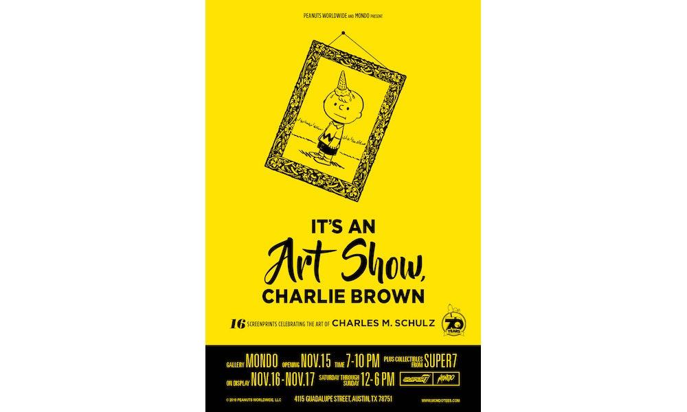 Gallery: Mondo's 'It's An Art Show, Charlie Brown'