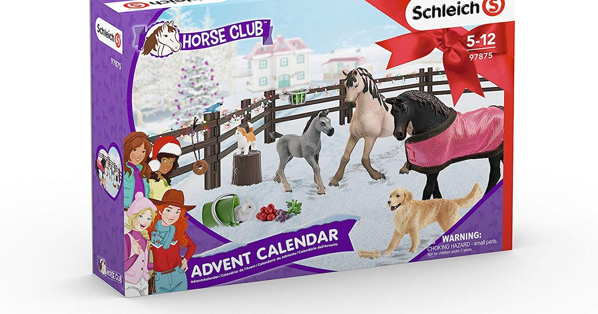 Schleich's Horse Advent Calendar Is A Cool Countdown For Equine Enthusiasts