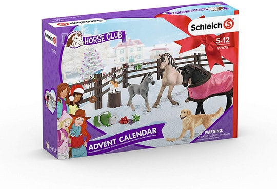 Schleich Horse Club advent calendar includes 24 toys