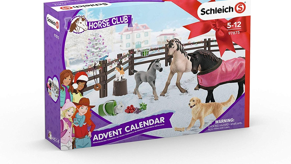 Schleich Horse Club advent calendar includes 24 toys