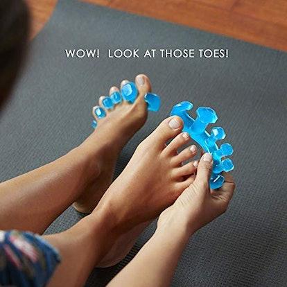 YogaToes GEMS: Gel Toe Stretcher & Toe Separator