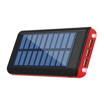 Kenruipu Solar Charger Power Bank