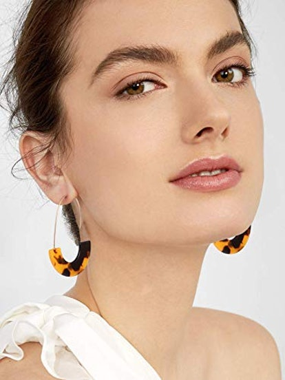 MOLOCH Acrylic Resin Wire Drop Dangle Earrings