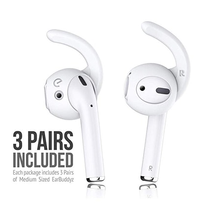 EarBuddyz Ear Hooks and Covers (3-Pack)