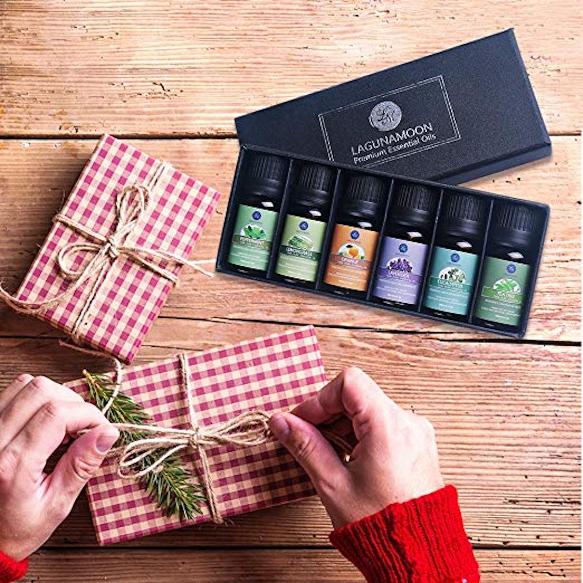 Lagunamoon Essential Oils Gift Set (6-Piece Set)