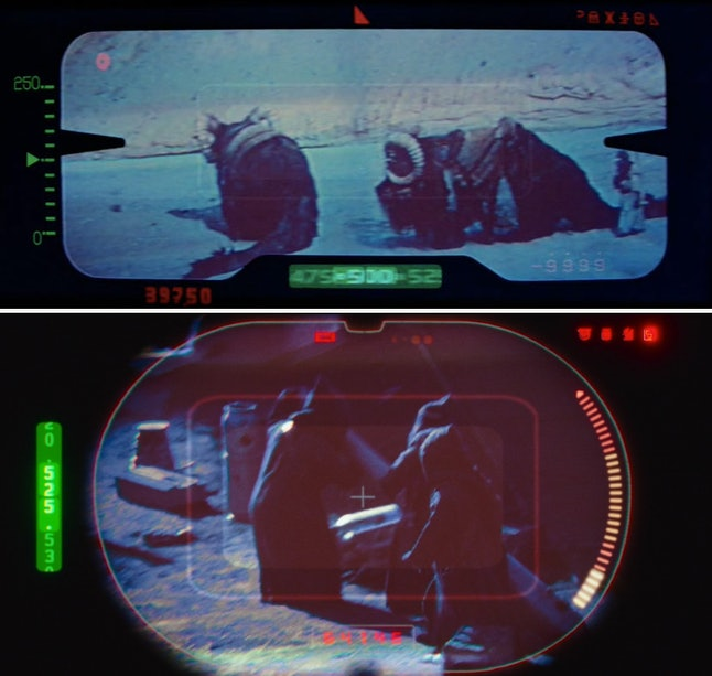 binocular views in Stars Wars and The Mandalorian