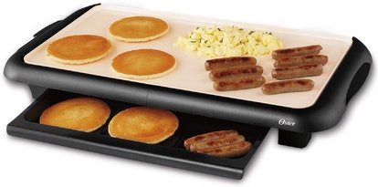 Oster DuraCeramic Griddle with Warming Tray