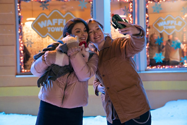 the pig in Netflix's 'Let It Snow'