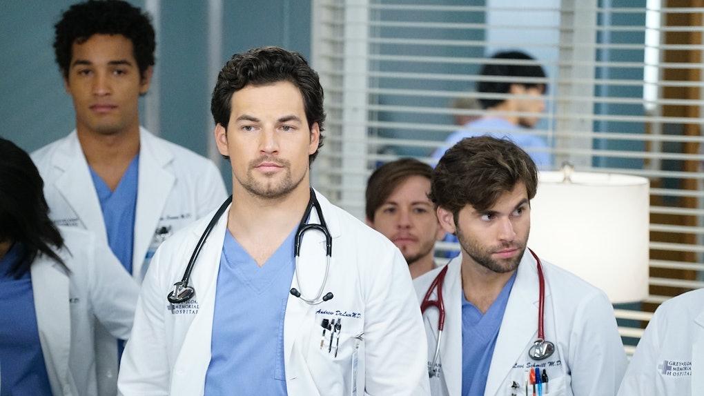 DeLuca in the 'Grey's Anatomy' Season 16 fall finale promo