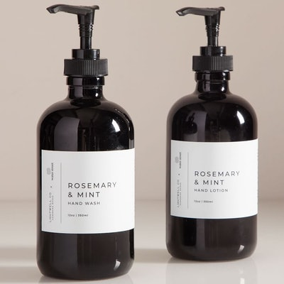 Lightwell x water street Hand Soap + Lotion - Rosemary + Mint