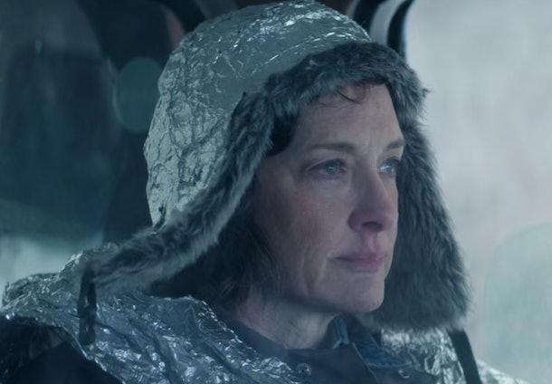 Tin Foil Lady in Netflix's 'Let It Snow'