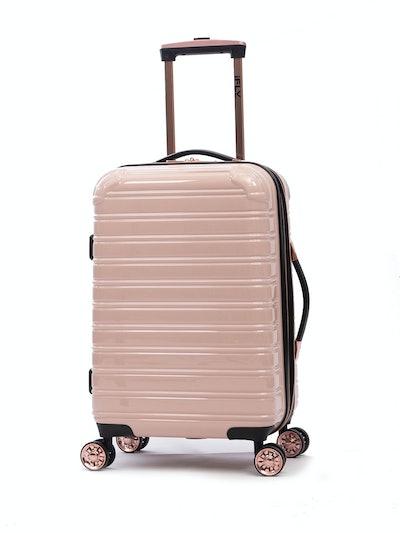 "iFLY Hardside Fibertech Carry On Luggage, 20"""