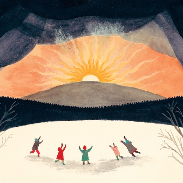 Cover of The Shortest Day by Susan Cooper, illustrated by Carson Ellis