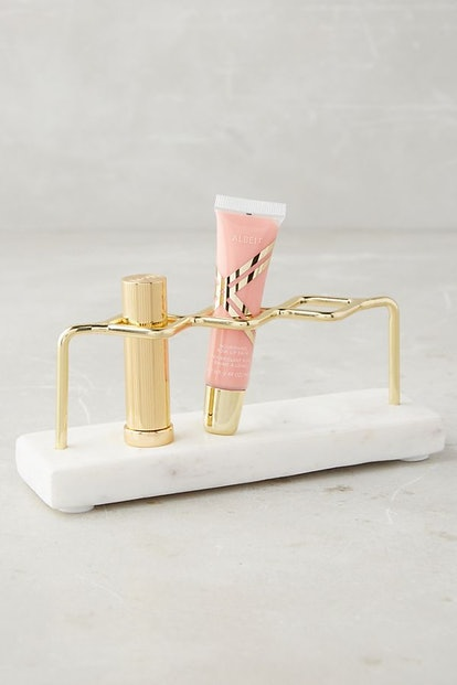 Marble Vanity Organizer — Lipstick Holder