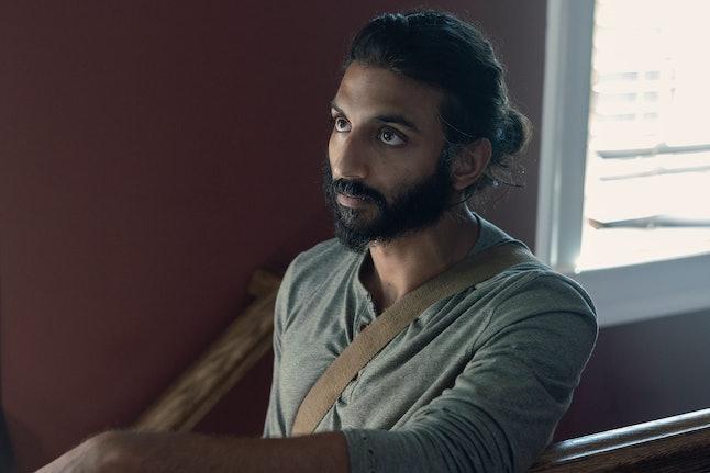 Avi Nash as Siddiq in The Walking Dead Season 10, Episode 7