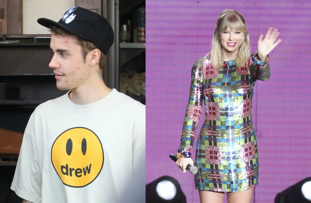 Justin Bieber's Response To Taylor Swift's Label Drama is going to make Swifties very upset.