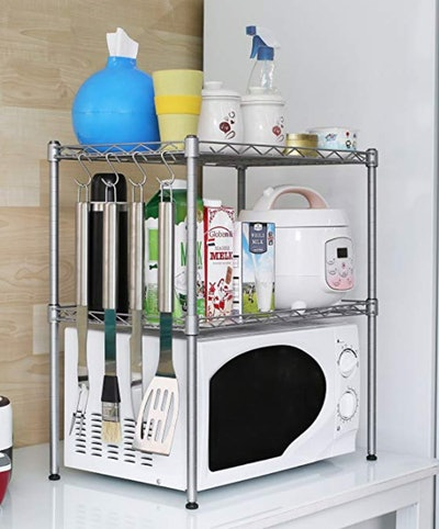 HOMFA Kitchen Microwave Oven Rack Shelving Unit