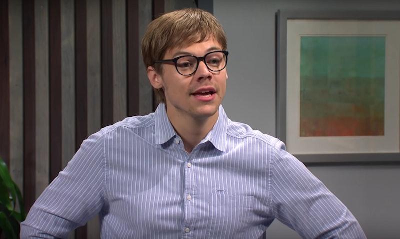 Harry Styles' 'SNL' Popeyes sandwich sketch invoked Jordan Peele's 'Get Out'