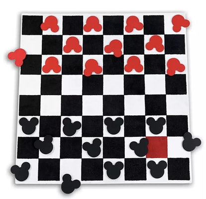 Mickey Mouse Checkboard Square Rug Set by Ethan Allen