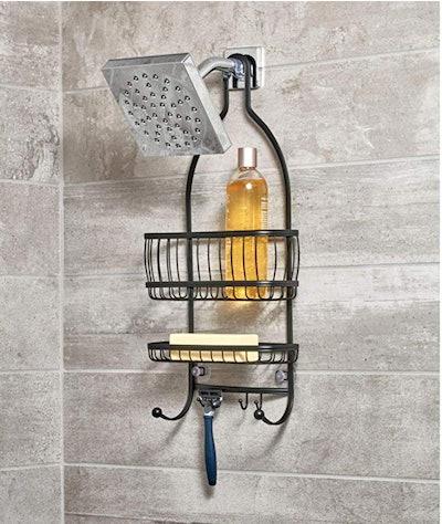 iDesign York Metal Wire Hanging Shower Caddy