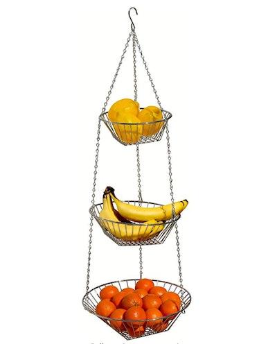 DecoBros 3-Tier Wire Hanging Basket