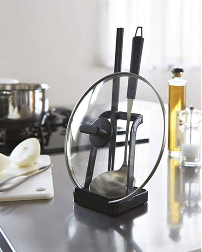 Yamazaki Home Tower Ladle Holder-Lid Stand