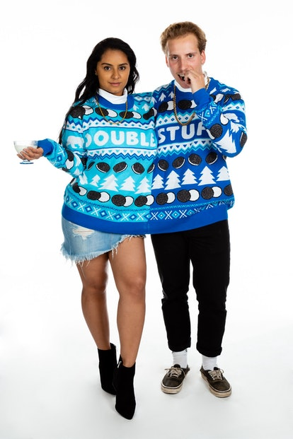 Double Stuf Oreo Christmas Sweater