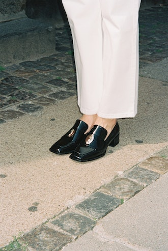 Nono Loafer In Brushed Calfskin