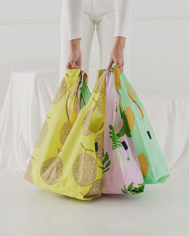 BAGGU Standard Reusable Shopping Bag (3-Pack)