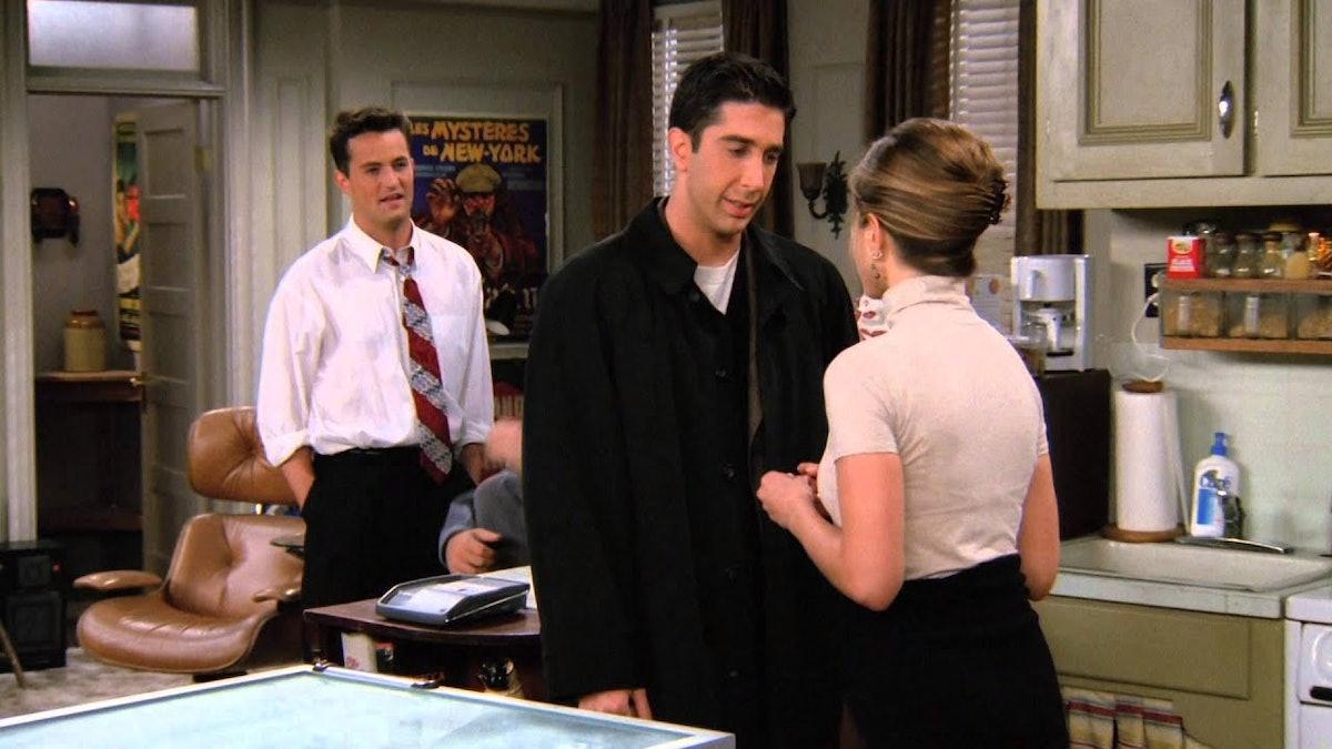 'Friends' Thanksgiving episode, Season 2