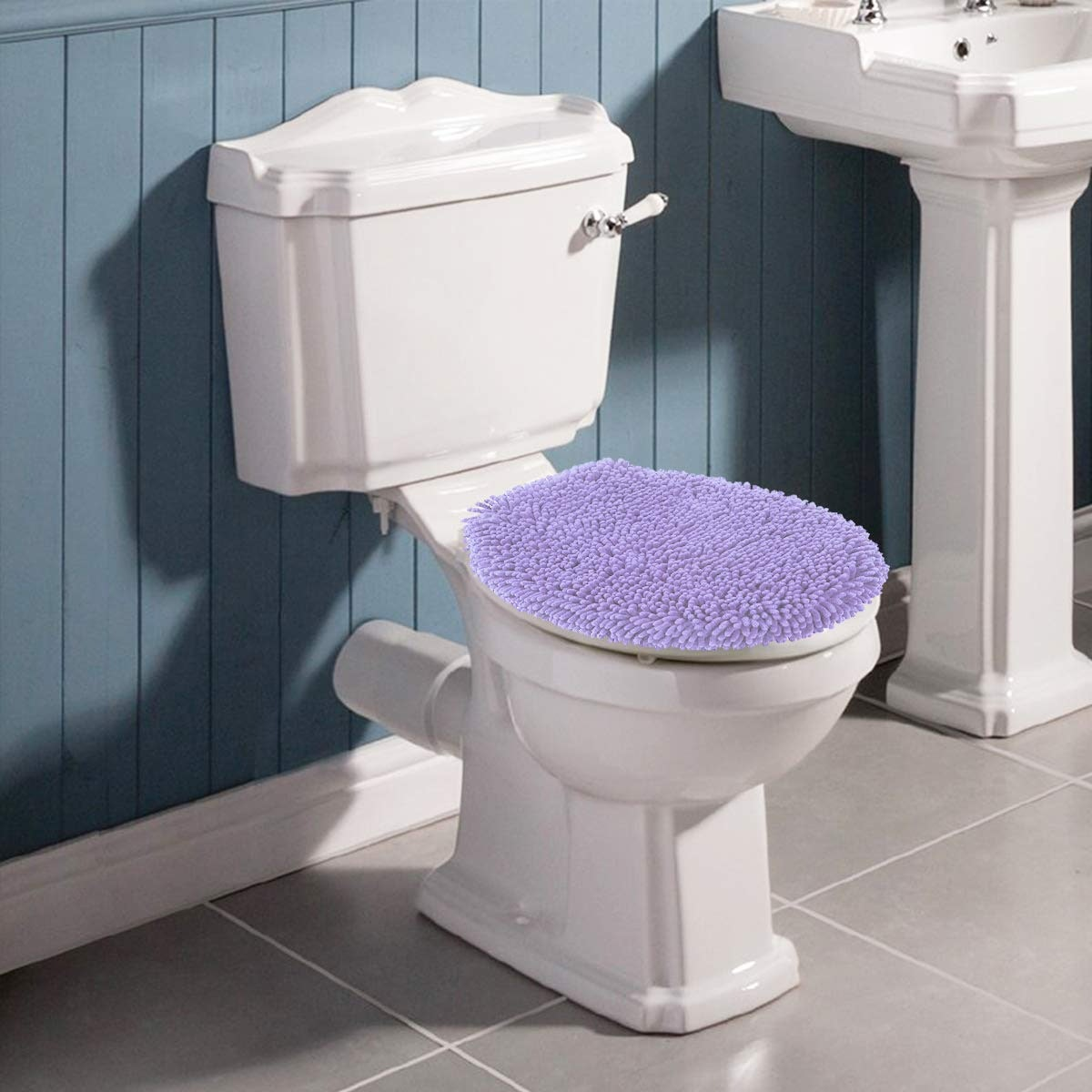 MAYSHINE Toilet Lid Cover
