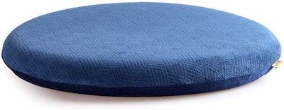 Sigmat Memory Foam Anti-Slip Round Dining Chair Cushion
