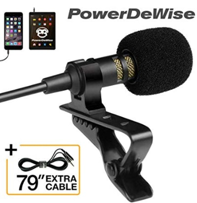 Professional Grade Lavalier Lapel Microphone