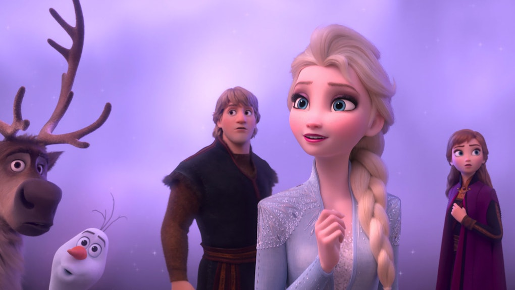 The 'Frozen 2' soundtrack was released a week ahead of the movie's premiere.