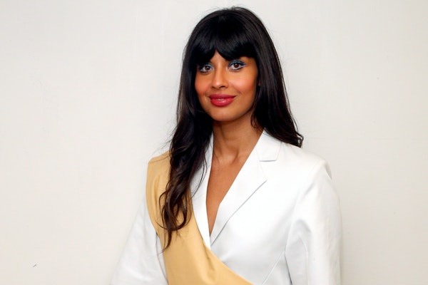 Jameela Jamil, who shares her advice for dealing with internet trolls with Elite Daily