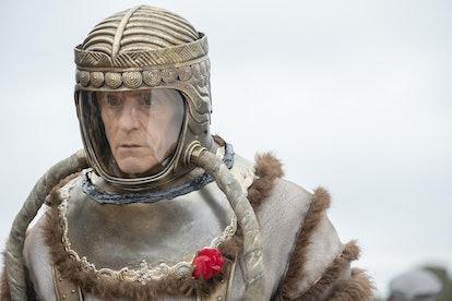 Why is Adrian Veidt in 'Watchmen' stuck in space?