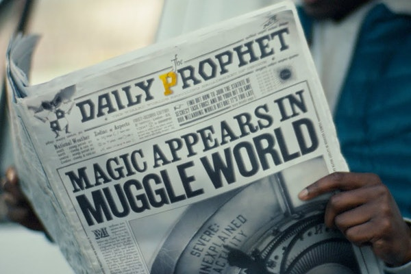 Still from Fantastic Beasts