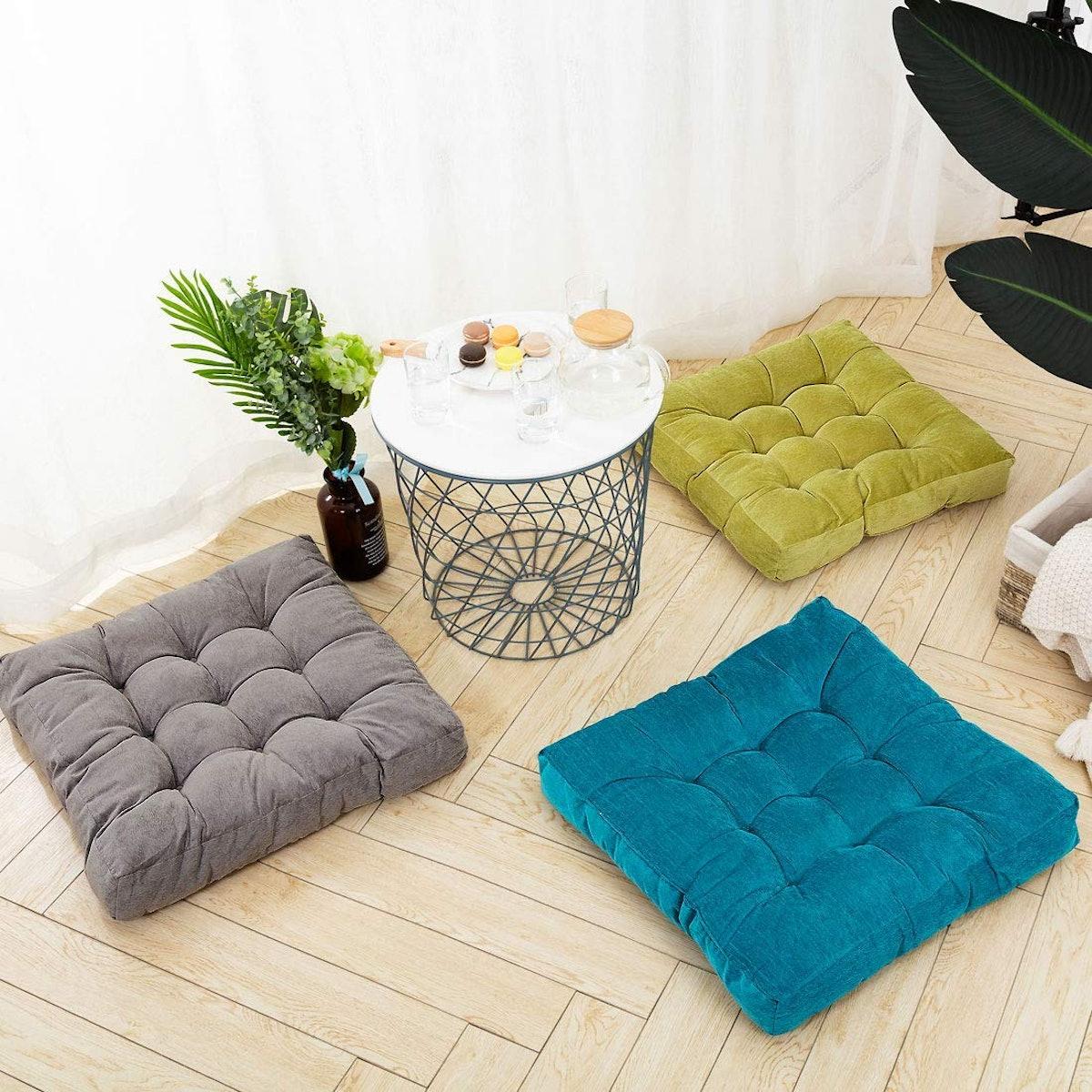 HIGOGOGO  Square Seat Cushion