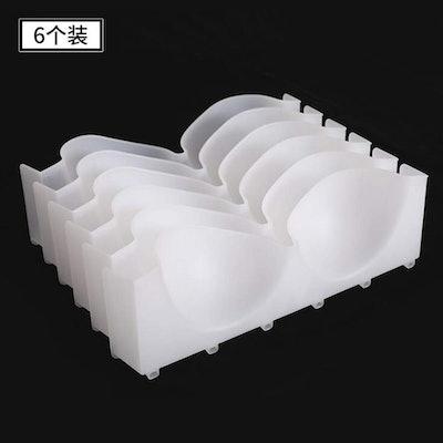 Yizhichu1990 Plastic Bra Storage Drawer Divider (Set Of 6)