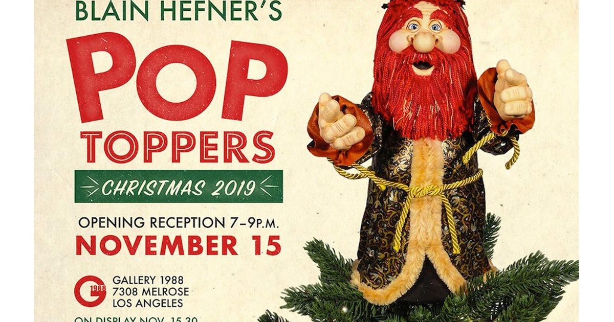 """Gallery: Blain Hefner's """"Pop-Toppers"""" at Gallery1988"""